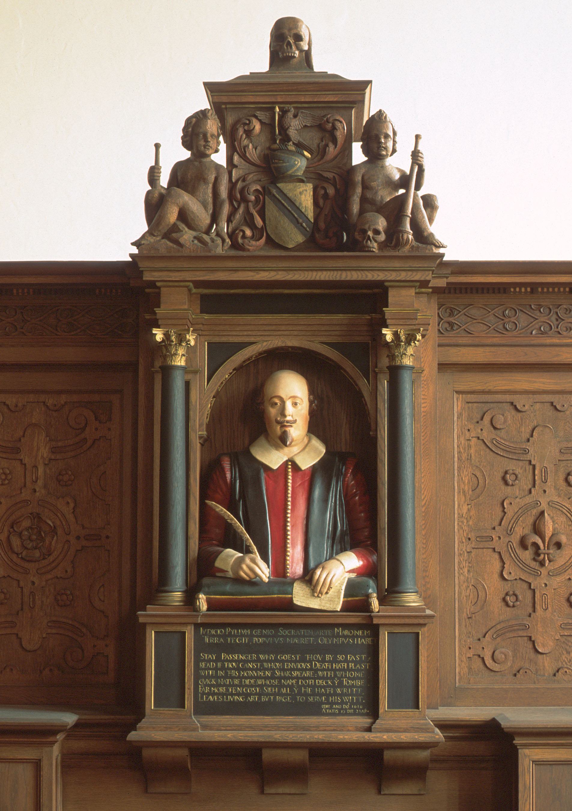 Folger Reading Room bust