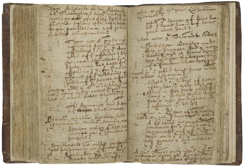 """The diary of physician and vicar John Ward contains the only known account of Shakespeare's death. On March 6, 1662/63 he writes, """"Shakespeare, Drayton, and Ben Jonson had a merry meeting, and it seems drank too hard, for Shakespear died of a fever there contracted."""""""