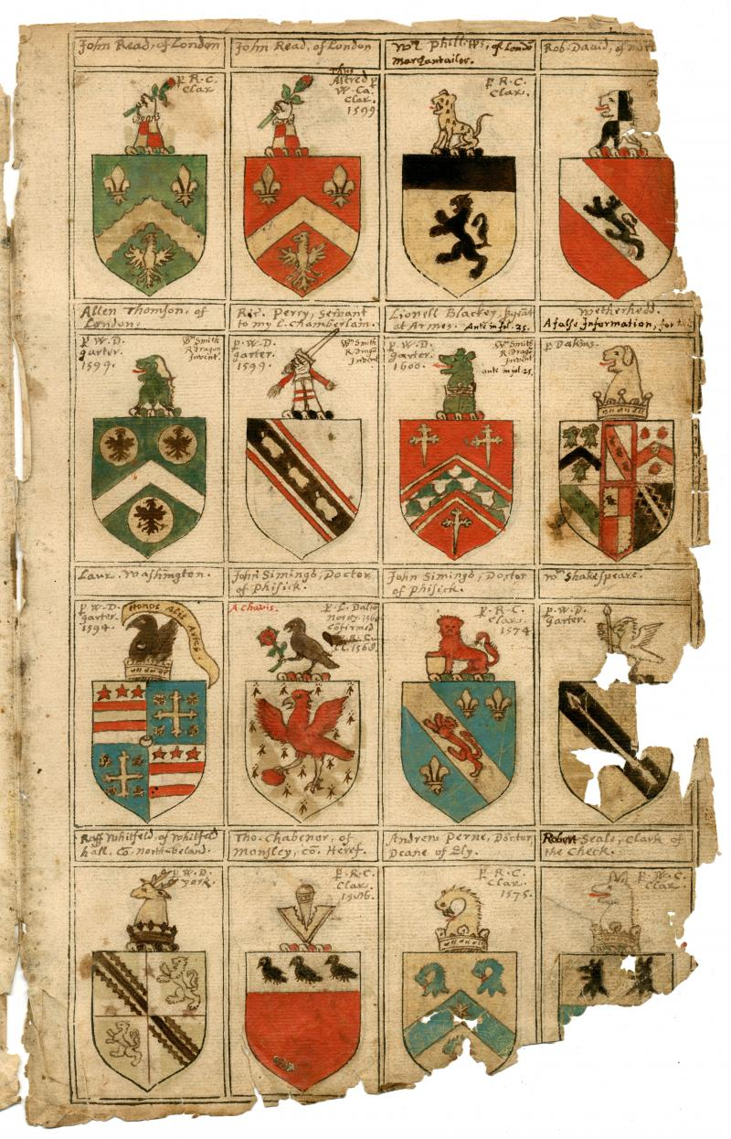 Shakespeare coat of arms