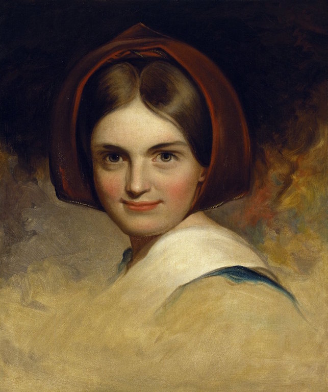 Thomas Sully. Charlotte Cushman. Oil on canvas, 1843. Folger Shakespeare Library.