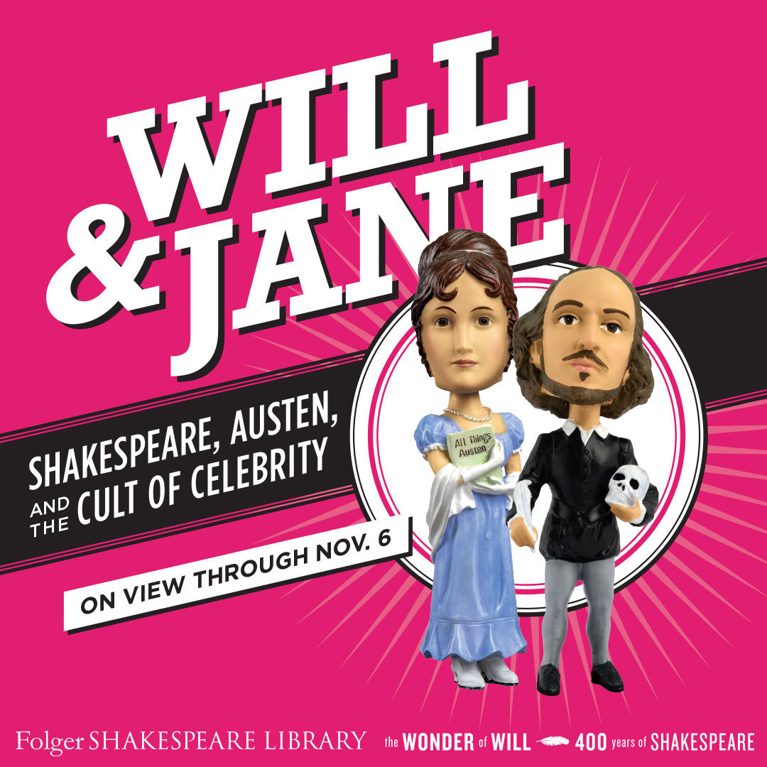 Will and Jane exhibit flyer