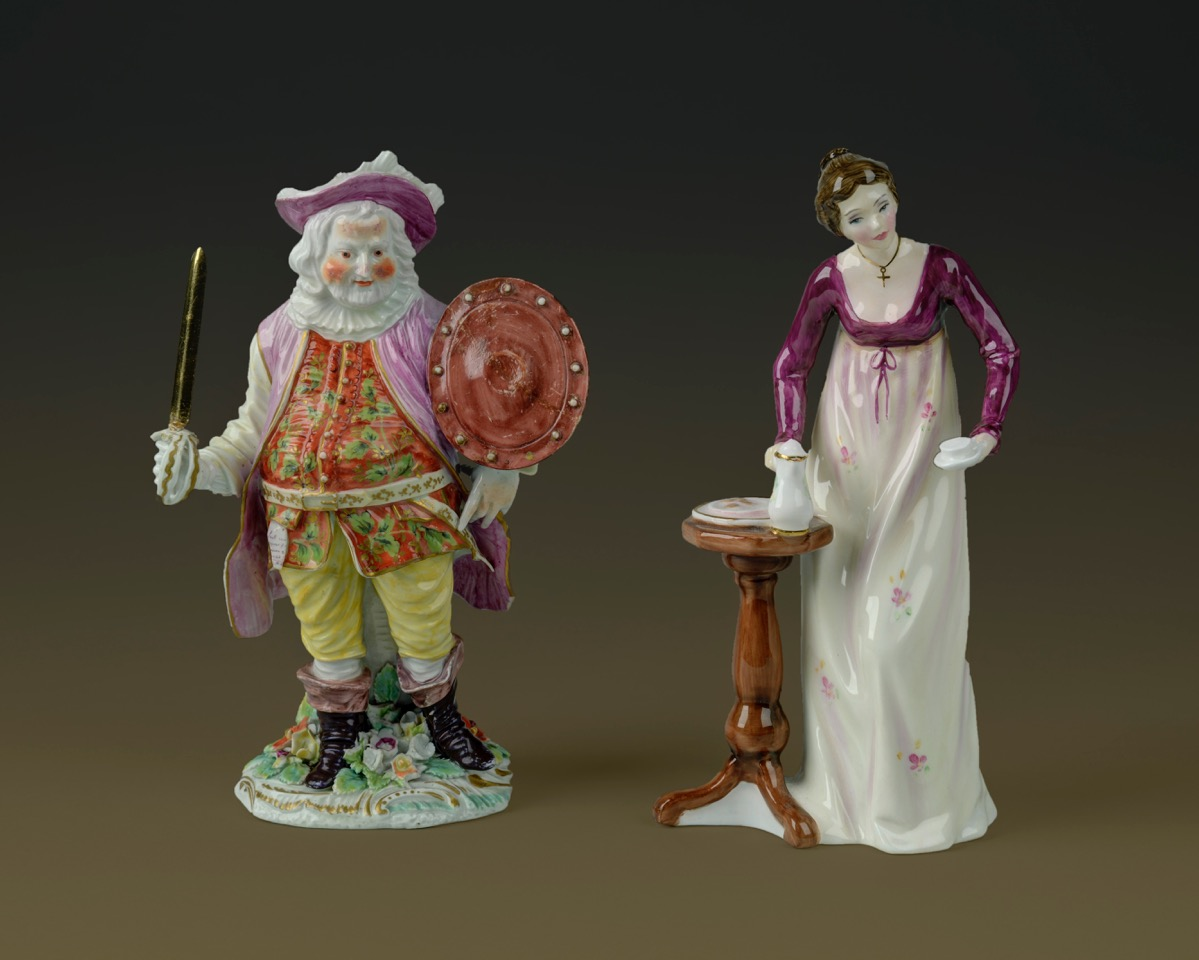 Falstaff and Elizabeth Bennet