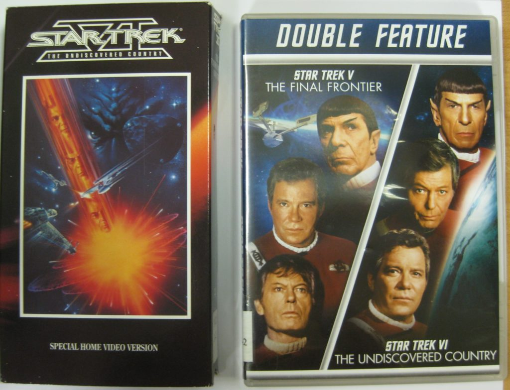 Undiscovered country VHS & DVD