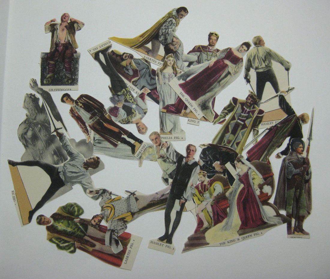 Hamlet cut-out figures