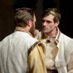 Leontes and Camillo - Baltimore Shakespeare Factory