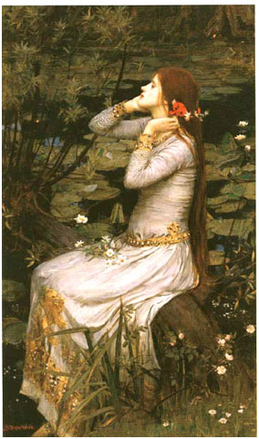 John William Waterhouse, Ophelia, 1894
