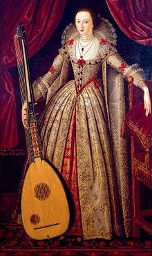 Public domain image of Lady Mary Wroth