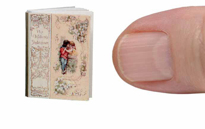 Miniature copy of The Children's Shakespeare