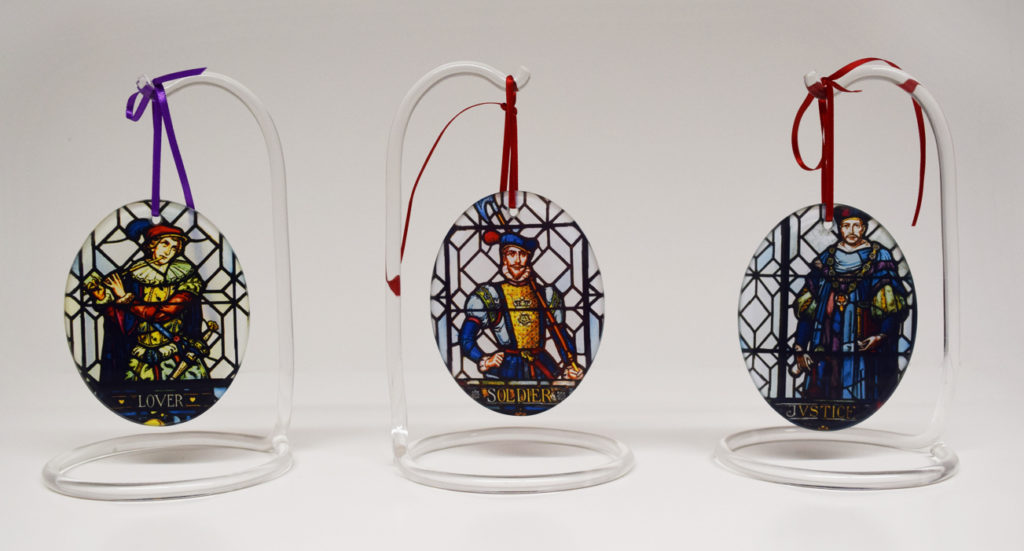 These ornaments are among our eight Christmas gift ideas for Shakespeare fans.