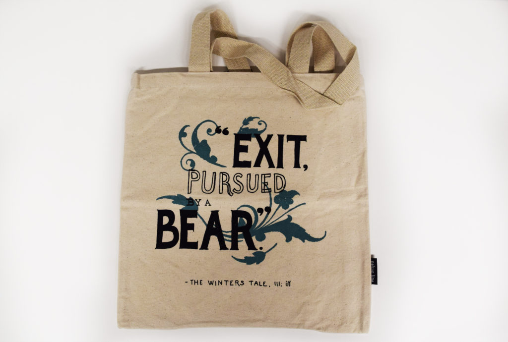 This totebag is one of our eight Christmas gift ideas for Shakespeare fans.