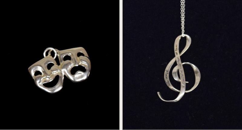 This jewelry is one of our eight Christmas gift ideas for Shakespeare fans.