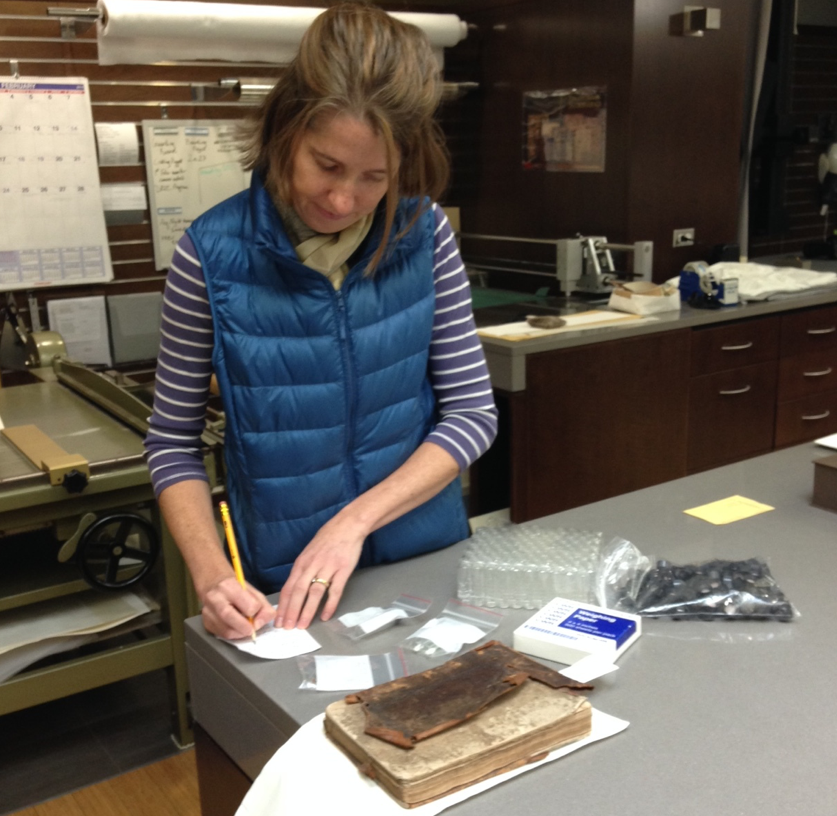 Dr. Heather Wolfe, curator of manuscripts, Folger Shakespeare Library