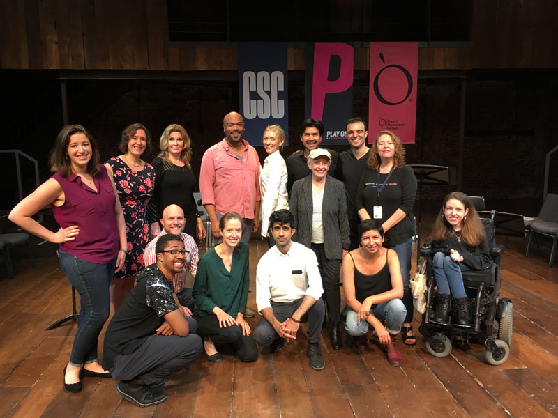 At the June 2019 reading of the Measure for Measure translation