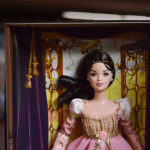 Juliet Barbie, from the Classic Ballet Series, in her box.