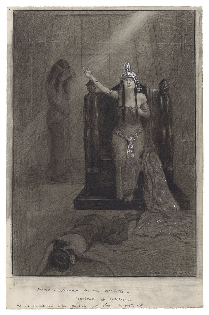 Constance Collier as Cleopatra