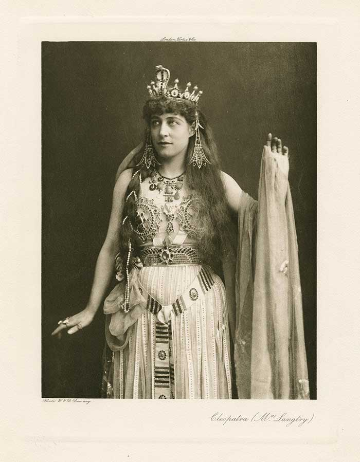 Langtry as Cleopatra