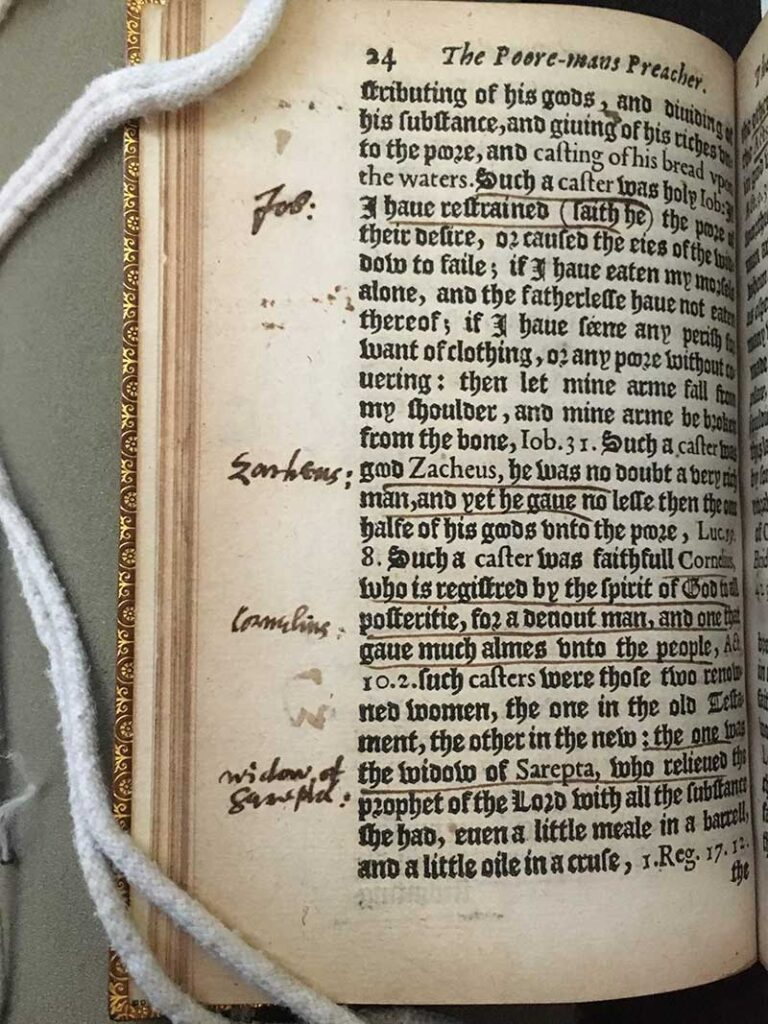 Annotated book