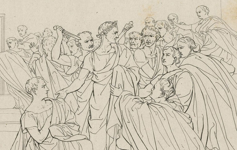 Opinion   Of Caesar, Guns and Trolls: The Evil that Men Do