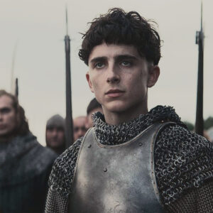 "Timothée Chalamet in ""The King,"" from Netflix."