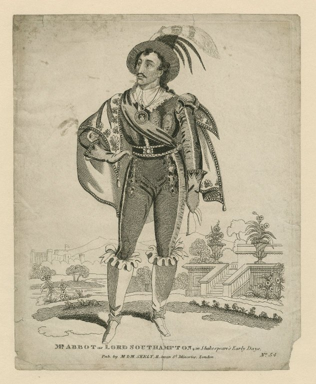 Character from Shakespeare's early days
